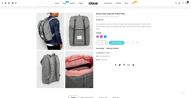 Product Gallery Grid